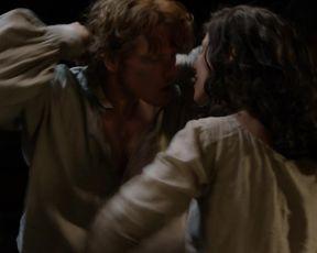 Caitriona Balfe - Outlander s03e11 (2017) Sexy movie video