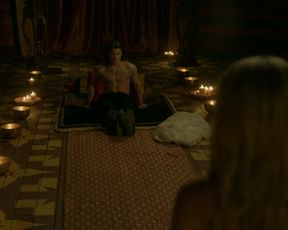 Alicia Agneson - Vikings s06e10 (2020) Naked actress in a TV movie scene