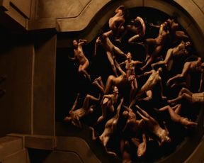 Yetide Badaki - American Gods s01e08 (2017) Hot nude scene