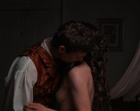 Lou de Laage, and other - O Caderno Negro (2018) celeb topless scenes