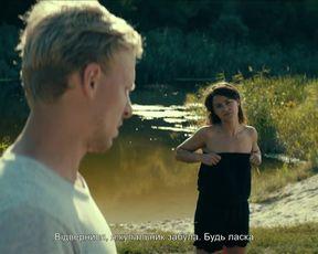 Ruslana Khazipova, Evgeniya Muc naked - The Wild Fields (Dyke pole) (2018)