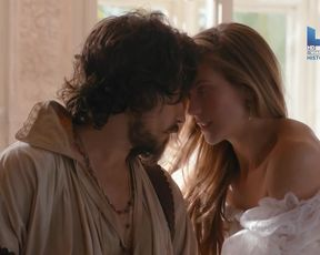 Charlotte Salt, Celeste Dodwell - The Musketeers s02e04 (2015) Nude sexy video