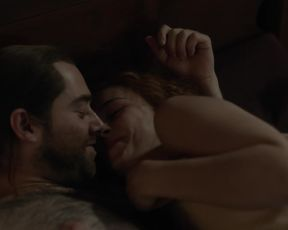 Sophie Skelton - Outlander s05e09 (2020) Naked actress in a movie scene