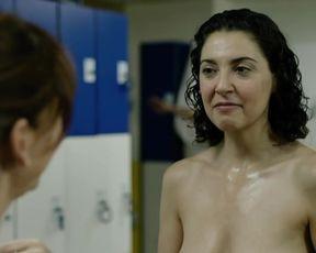 """Almudena Leon - Verguenza s01e03 (2017) Nude """"topless"""" scene"""