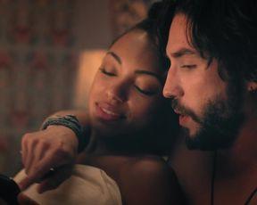 Logan Browning - Dear White People s01e01 (2017) Nude film scene