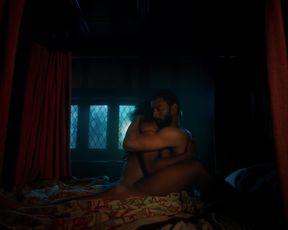 Charlotte Hope, Stephanie Levi-John â The Spanish Princess s02e01 (2020) celebs hot movie scene