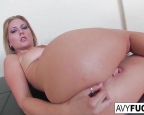 Killer Avy unwraps off a mind-sucking dress in this erotic solo for you to enjoy
