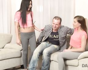 DADDY4K. StepMom gets dazed when catches BOYFRIEND and daughters-in-law-in-law-in-law having hookup