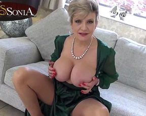 Fat hooter British mature Female Sonia gets raw witnessing you stroke your weenie