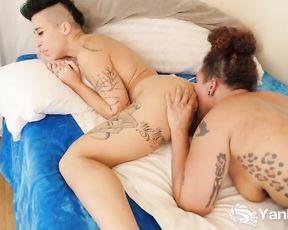 Twitches Valentine Licks Andre Shakti's Booty