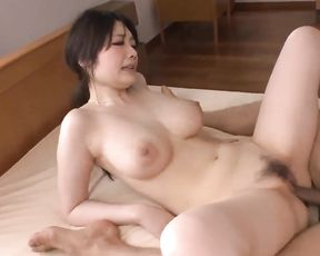 Japanese with massive melons, horny outdoor first-timer romp - More at 69avs com