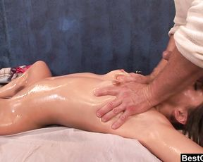 BestGonzo Glamour Lubricant Massage lead to roughsex