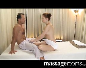 Very supah-beautiful erotic massage ends in inward climax