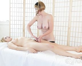 Penny Lay is doing all kinds of horny stuff in the rubdown apartment, because it perceives fine