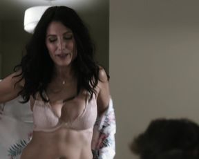 Lisa Edelstein, Gina Torres - nine-1-1 Lone Starlet s02e01 (2020) celebs a without bra gig from the video