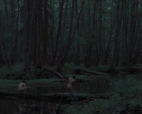 Moa Nilsson - Total of Fire (2020) celebs a without bra sequence from the vid