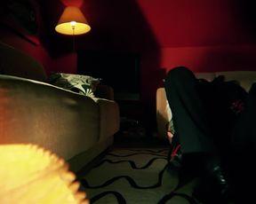 Rebecca Ferguson - Cold Night (2020) celebrity bare knockers vignette