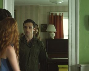 Elizabeth Masucci, Mika Boorem - Cherry Alexander (2011) actress a bare-chested gig from the video