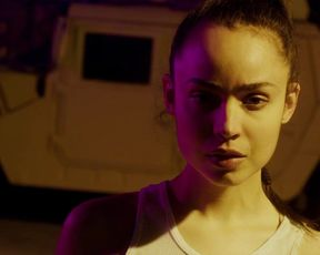 Sofia Carson steaming smooch episode - Songbird (2020)