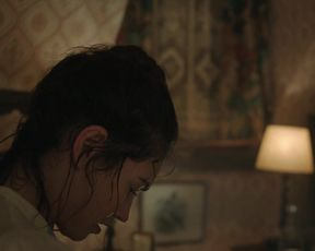 Lily James - The Delve (2021) celebs a bare-chested sequence from the video