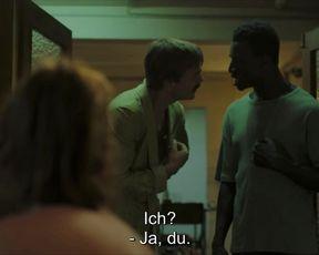 Lena Schmidtke - Berlin Alexanderplatz (2020) celebrity a bra-less sequence from the video