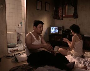 Mi-seon Jeon - Memories of Murder (2003) celeb titties episode