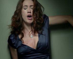 Carla Sanchez - La senora Brackets, la ninera, el nieto bastardo y Emma Suarez (2014) celeb clad fuck episode