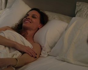 Hilary Swank, Damaris Lewis â Fatale (2020) celebs a bare-chested gig from the vid