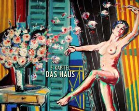 Amira Casar, Anne Helene Kotoujansky, and other – Ich und Kaminski (2015) actress bare-breasted gig