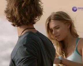 Indiana Evans - Blue Lagoon The Enlivenment (2012) actress a bare-breasted vignette from the flick