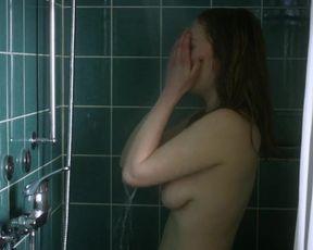 Eva-Maria May - Cruz Verde (2012) celeb a bra-less sequence from the vid
