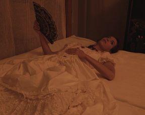 Laura Houvenagel - The Book of Antichrist (Le livre de l'antechrist) (2021) celeb bare melons gig