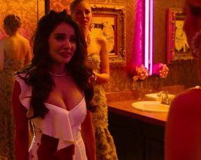 Aimee Carrero, Emma Roberts, Kristin Chenoweth, Nicola Peltz - Holidate (2020) celeb torrid vignette