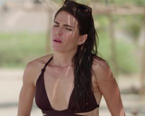 Karla Souza, and other - Don't Blame the Kid (Que culpa tiene el nino) (2016) actress bare funbags sequence