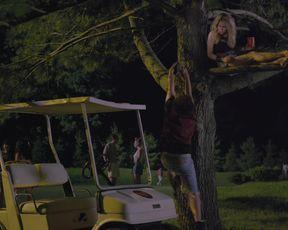 Alexandra Turshen, Adriana DeGirolami - Crimson Oaks s01e01 (2014) celebrity bra-less & baps vignette