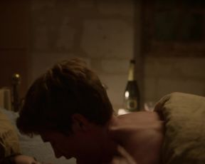Lily Collins - Emily in Paris s01e01-ten (2020) celebrity bare breasts gig