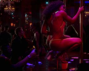 Chrystal McCoy - Force Book II Ghost s01e01 (2020) celebs a bra-less sequence from the video