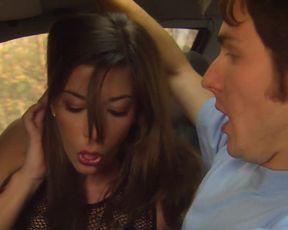 Carly Leonard, Marla Malcolm, Katie Rowlett â Blood Car (2007) celebs bare-chested episode