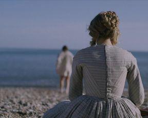Kate Winslet, Saoirse Ronan - Ammonite (2020) celeb bare melons vignette
