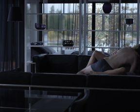 Helena Af Sandeberg - Morkt vatten (2012) actress a without bra vignette from the flick