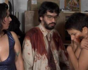 Gisele Ferran, Raissa Vitral - Zombio two Chimarrao Zombies (2013) celebrity super-hot flick vignette