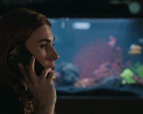 Kaley Cuoco - The Flight Attendant s01e01 (2020) celeb bumpers episode
