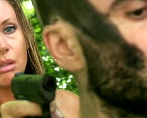 Sara Brooks, Lisa Neeld, Pamela Sutch - Skull Woods (2012) celebrity horror booby movie