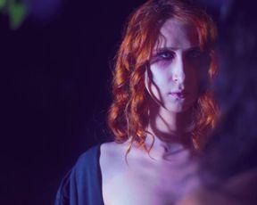 Larissa Anzoategui, Nathalia Borioli â Dominatrix Nocturna (2021) celeb a bra-less gig from the video