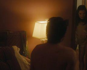 Marguerite Moreau, Bitsie Tulloch - Caroline and Jackie (2012) celebs naked melons episode