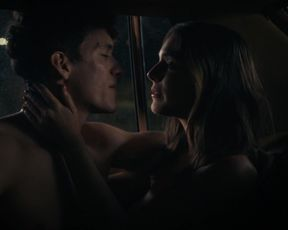 Caitlin Stasey, Isabella Farrell - Bridge and Cavern s01e06 (2021) actress titties sequence