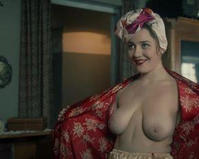 Nina Andronaki, Alyona Mikhailova - Za chas do rassveta s01e01 (2021) russian actress big-chested episode