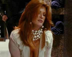 Angie Everhart - Take Me Home Tonight (2011) celeb stripped to the waist sequence