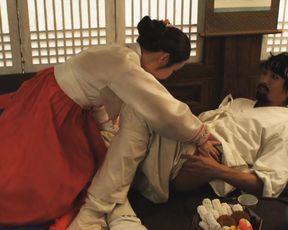Chae-Youthfull Han, Yoo-Joo Shin - The Story Of Ong-nyeo (2014) Japanese celebs booby, romp and fellatio sequence