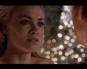 Yvonne Strahovski Bare Lovemaking Vignette In Dexter Series Celebs Nude